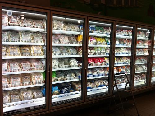 aisle of perogies