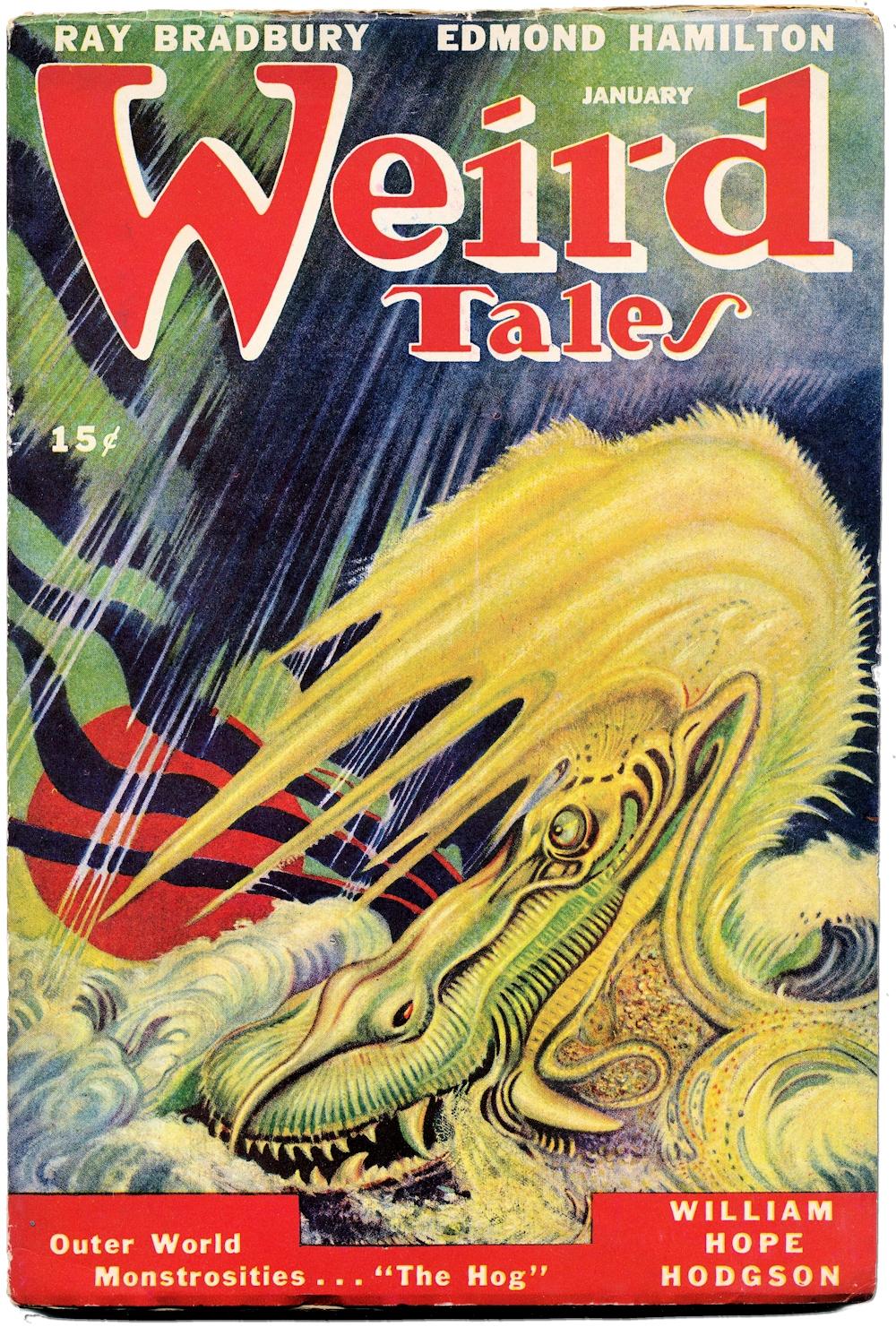 AR Tilburne Weird Tales
