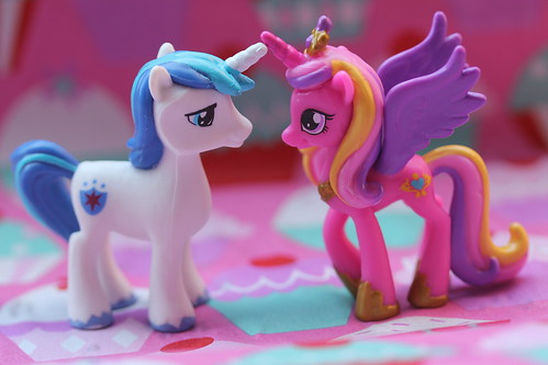 Shining Armor & Princess Cadance