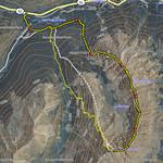 GPS Topo Climbing Ellingwood Ridge of La Plata