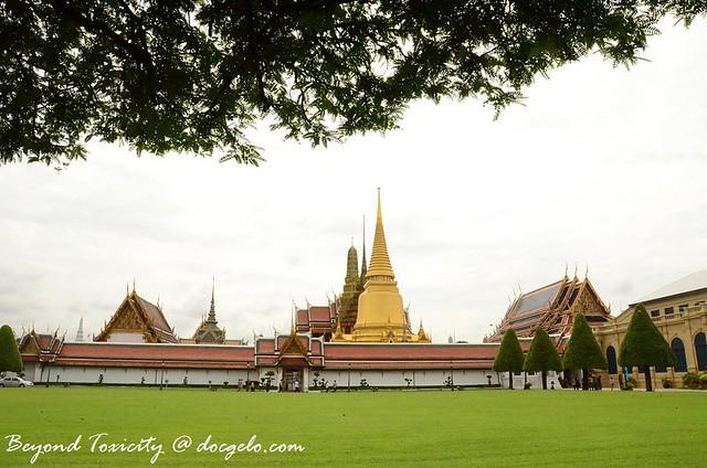 grand palace grounds, bangkok