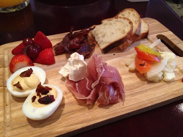 Breakfast platter - The WestWood