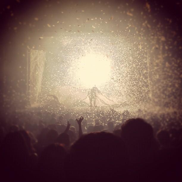 Snow storm, Slava's Snow Show.