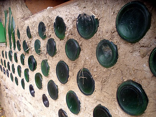 Bottle wall detail by dibach