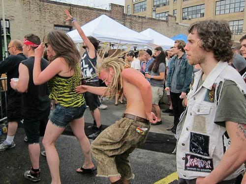 Roberta's Bushwick Block Party 2012: Dance Party
