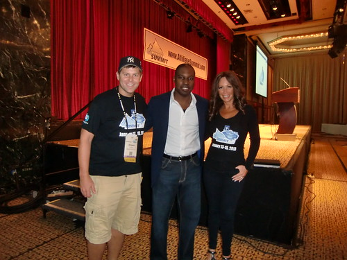 Shawn Collins, Ntiedo (NT) Etuk and Missy Ward at Affiliate Summit East 2012