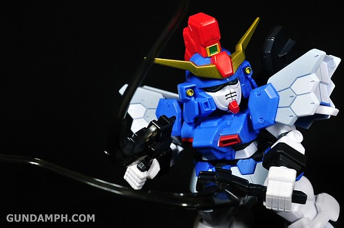 SDGO Sandrock Custom Unboxing & Review - SD Gundam Online Capsule Fighter (38)