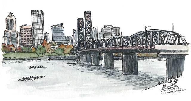 pdx hawthorne bridge