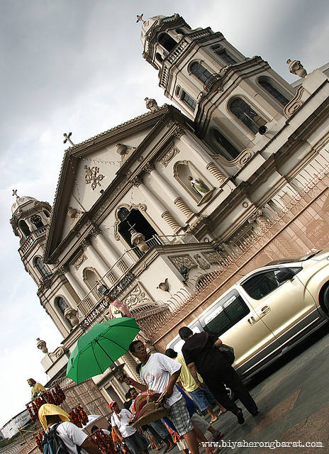 Quiapo Church in Manila