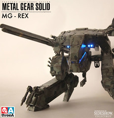 ThreeA Toys MG 1-48 METAL GEAR REX (2)