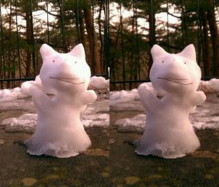 Scratch Cat ssnowman