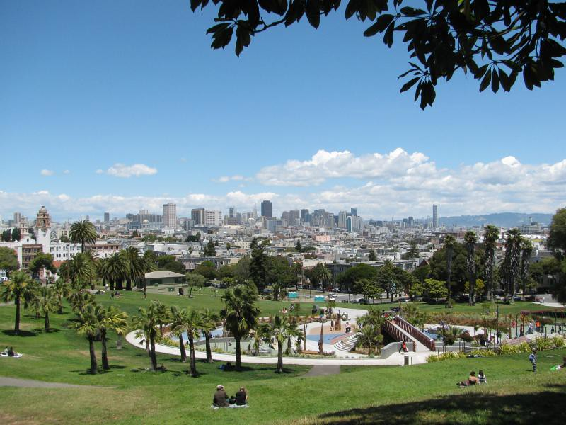 dolores park panorama 1