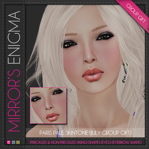 Paris Pale Skintone (July Gift)