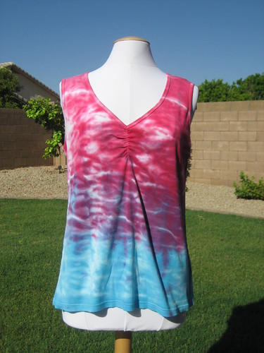 Hand Dyed Tank Top ~ Done by StitchedByMe