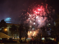 National Day Preview Fireworks