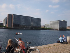Harbour Pools, Sunny Summer Days in Copenhagen