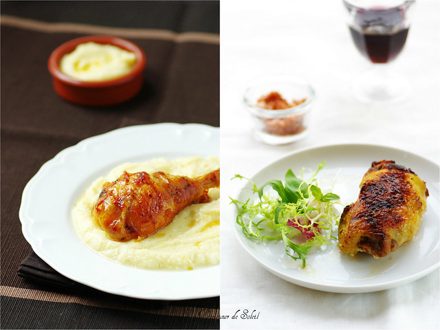 Roasted chicken, two methods