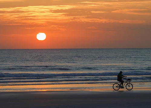 Day/Asgn 91: Sunrise at New Smyrna Beach. (91/366)