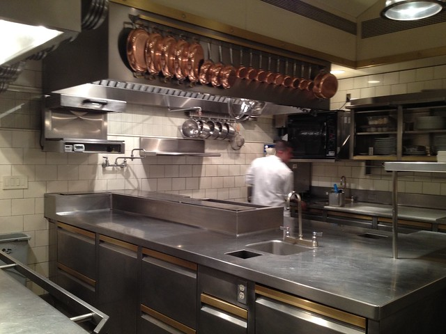 Post-dinner kitchen - The French Laundry