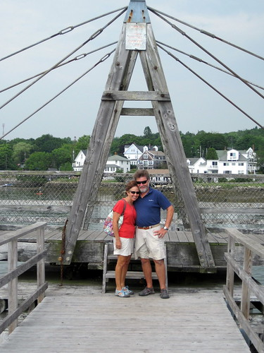 Footbridge - Boothbay Harbor