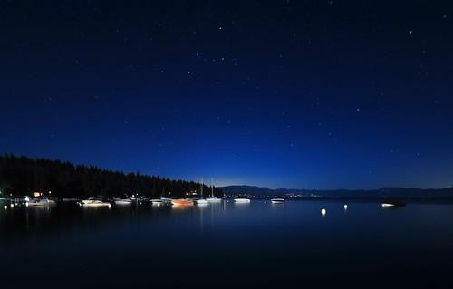 Starry night.