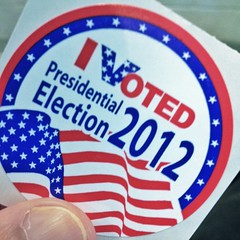 I voted in the 2012 election