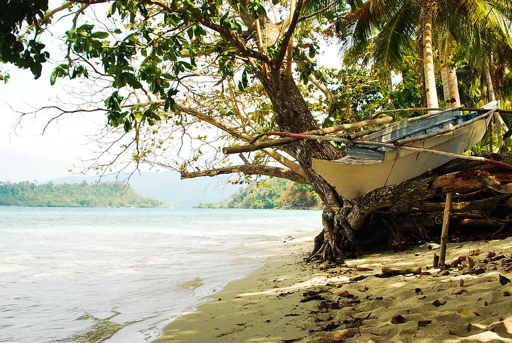 Port Barton, San Vicente, Palawan, German Island, Camping, Outrigger, Boat, Bangka, Summer