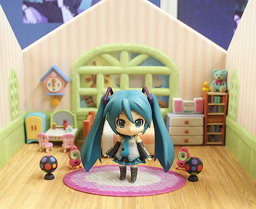 Nendoroid Hatsune Miku's room?