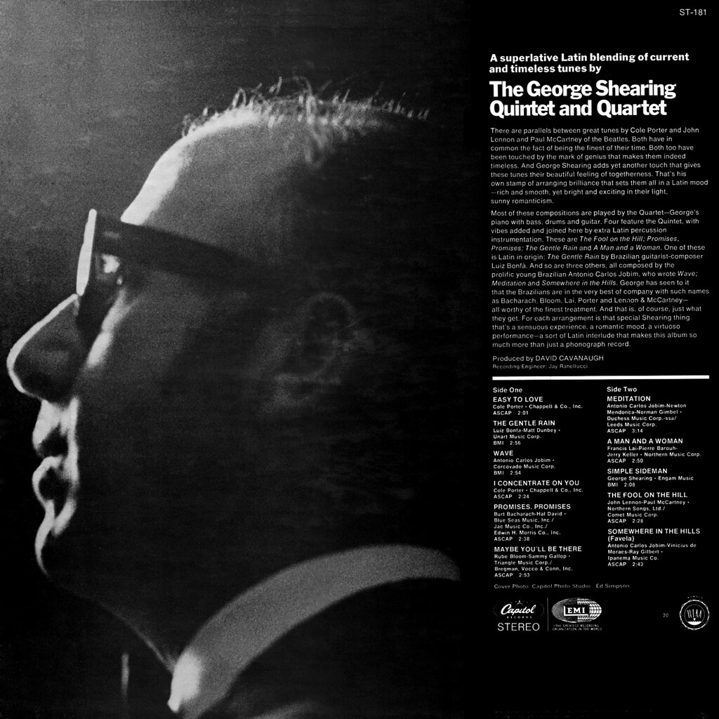 George Shearing - Fool on the Hill
