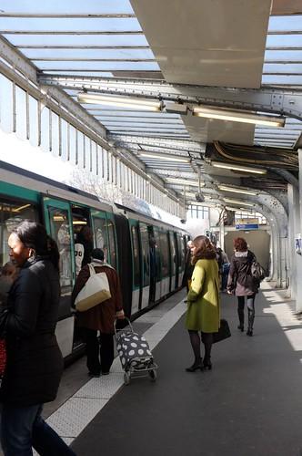 Barbès – Rochechouart Metro