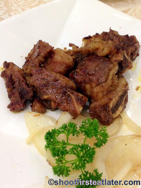 Chuk Yuen dim sum -pan fried Kobe veal bones