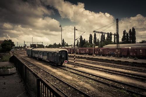 End of Track (Train Station, Bratislava) - Photo : Gilderic