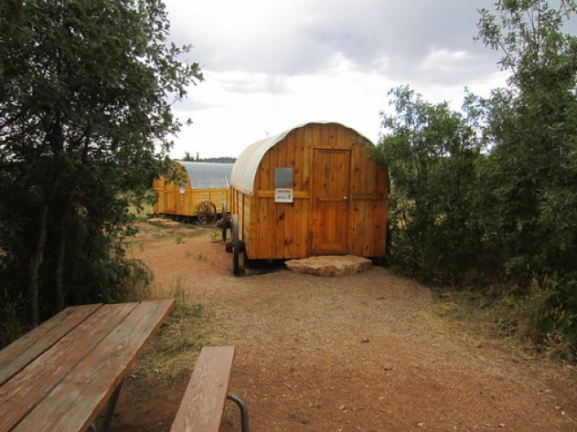 Zion Ponderosa Resort Covered Wagon