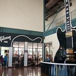 Gibson guitar factory lobby