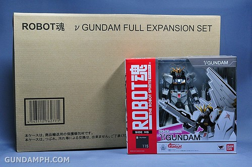 Robot Damashii Nu Gundam & Full Extension Set Review (1)