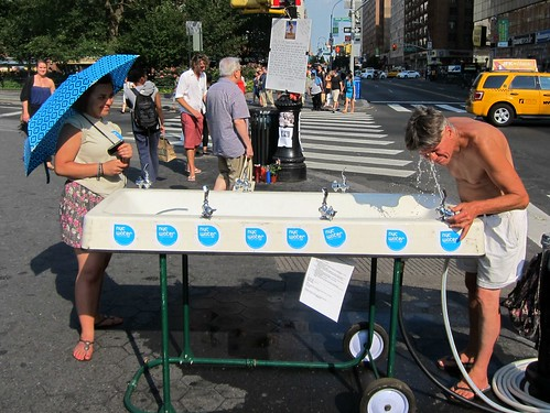 Union Square water fountain by Scoboco