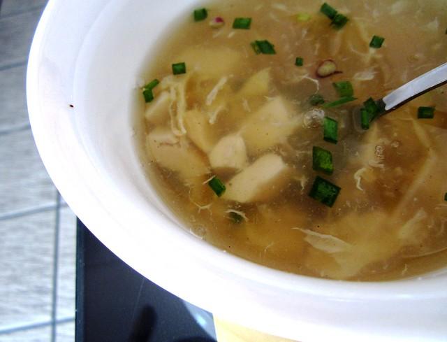 NoodleHouse complimentary soup