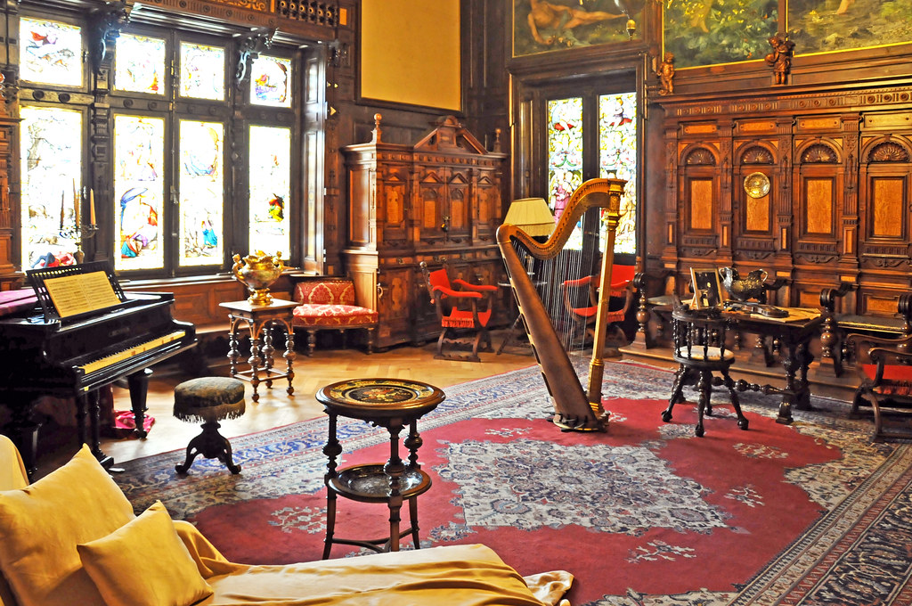 Music Room, Peles Castle, Romania