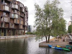Tietgenkollegiet student residence in  Ørestad, Copenhagen