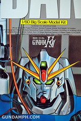 Gundam F91 1-60 Big Scale OOTB Unboxing Review (2)