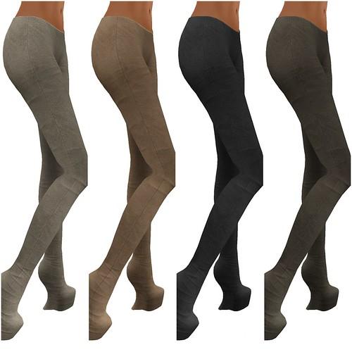 Leggings Suede 1