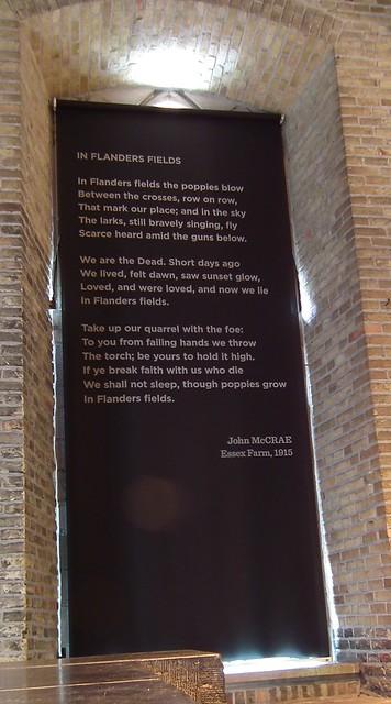 In Flanders Fields poem by John McCrae