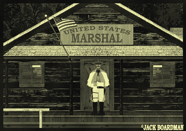 Big Mac received news of a murder in Grand Marais ©2012 Jack Boardman