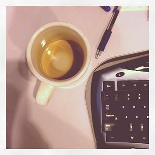 When the coffee is gone #photoadayapril #somethingthatmakesyousad