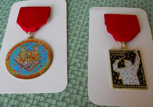2012 Fiesta Medals