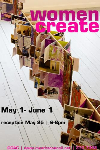 Women Create Poster