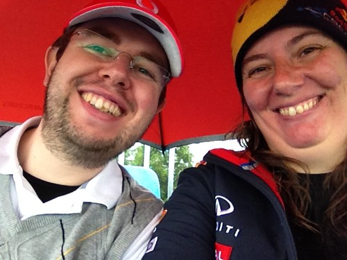 Me and Phil at Silverstone