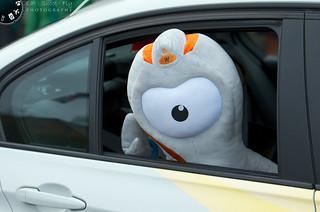 One-eyed mascot Wenlock