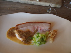 Smoked pork from Monkshill Farm (and wholegrain mustard sauce)