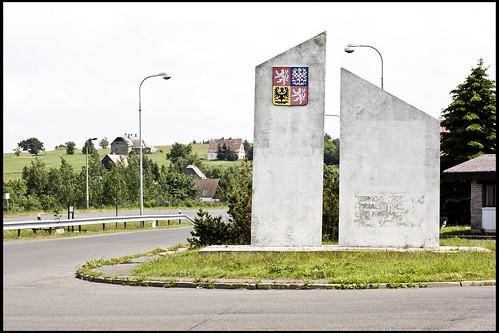 alter Grenzübergang nach Cínovec